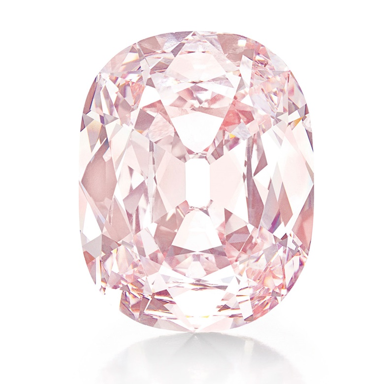 The Princie Diamond. Sold for $39,323,750 on 16 April 2013 at Christie's in New York