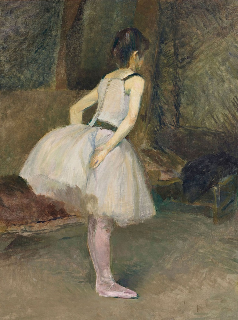 Henri de Toulouse-Lautrec (1864-1901), Danseuse, 1888. Oil on canvas. 31⅝ x 23½ in (80.5 x 59.5 cm). Estimate $6,000,000-8,000,000. Offered on 11 November in the Impressionist and Modern Art Evening Sale Including Property from the Collection of Herbert and Adele Klapper at Christie's in New York
