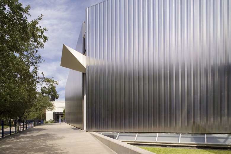 Contemporary Arts Museum Houston (CAMH) is one of many institutions to have benefitted from the city's tradition of cultural philanthropy. Photograph by Rick Gardner