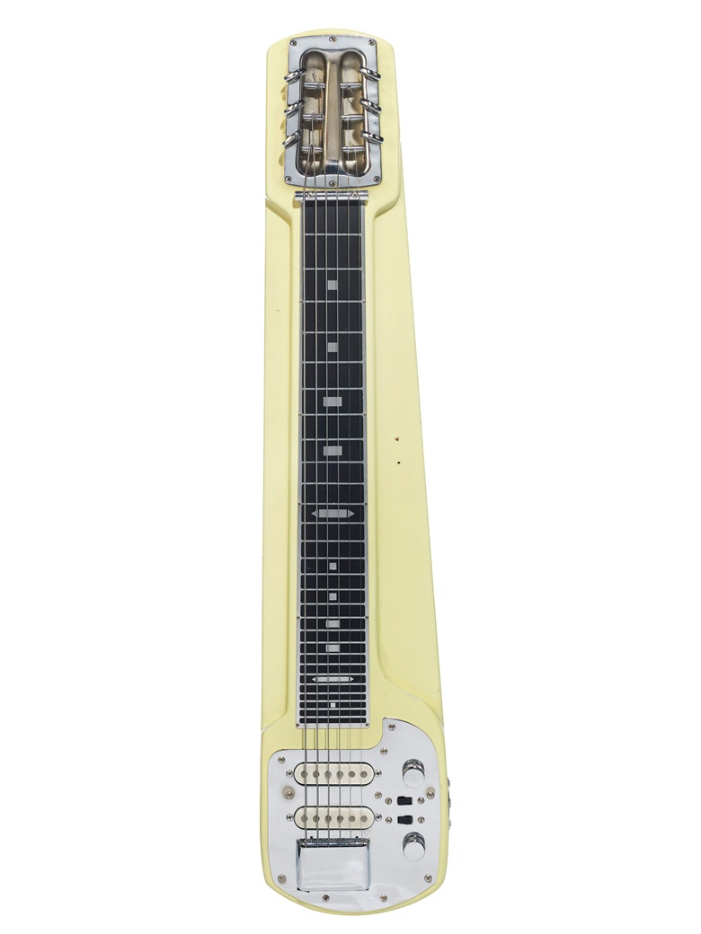 Jedson, Japan, 1974. An electric console steel guitar. Estimate $1,000-2,000. Offered in The David Gilmour Guitar Collection on 20 June at Christie's in New York