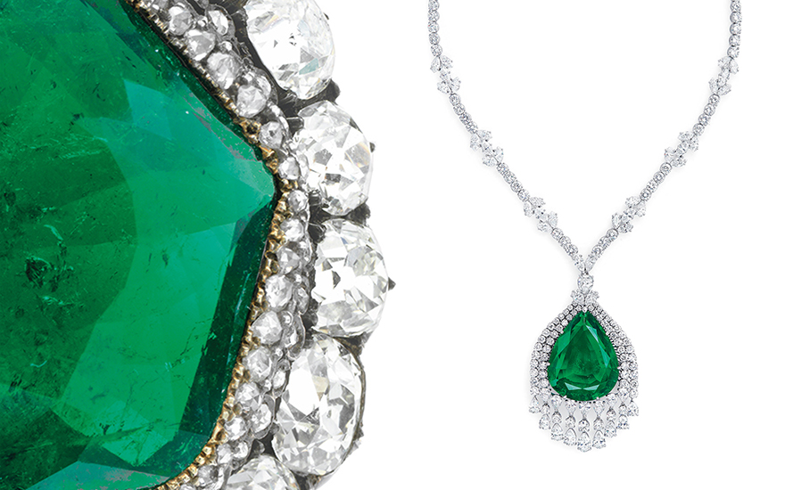 'Love is an emerald' — 10 historic emerald jewels sold at Christie's