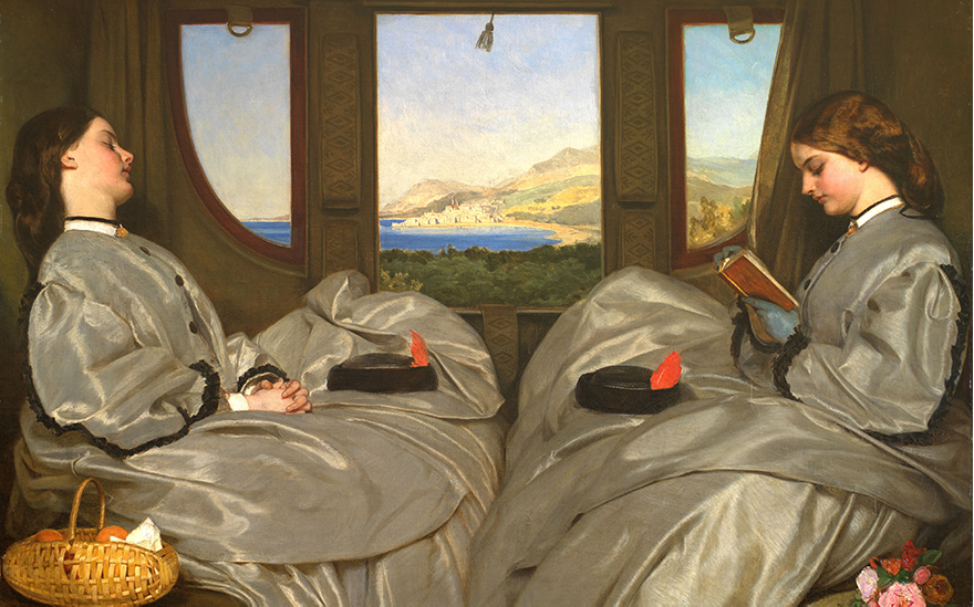 Augustus Egg, The Travelling Companions, 1862. Photo Bridgeman Images