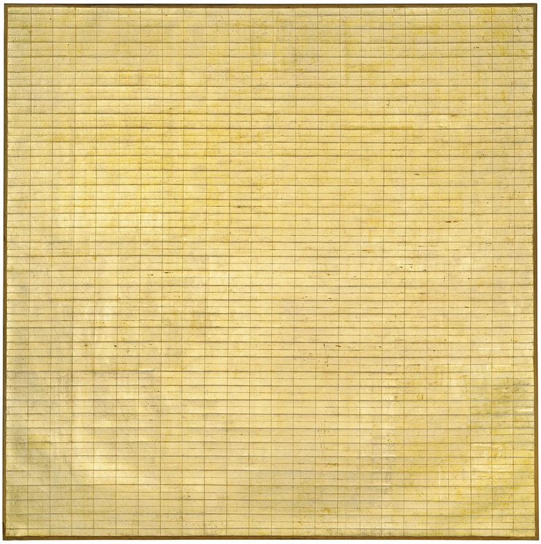 Agnes Martin (1912-2004), Friendship, 1963. Museum of Modern Art, New York © 2015 Agnes Martin  Artists Rights Society (ARS), New YorkDACS, London