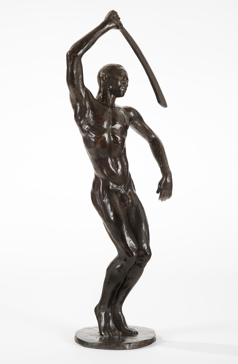 Richmond Barthé (1901-1989), Feral Benga, 1935. Cast c. 1950, bronze. 19 x 6½ x 4½ in. Private Collection; Courtesy of Michael Rosenfeld Gallery LLC, New York, NY