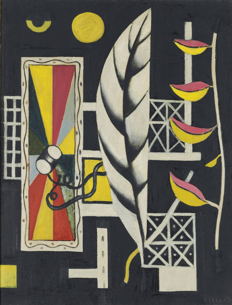 Fernand Leger (1881-1955), Nature morte, 1927. Oil on canvas 25½ x 19⅝ in (64.9 x 49.8 cm). Price upon request. This work and others are offered for private sale at Christie's