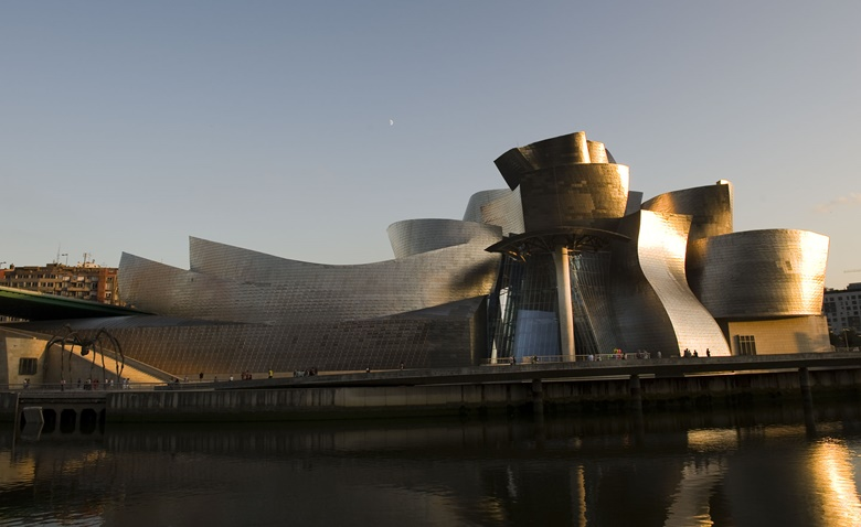 View of the Guggenheim Museum Bilbao. Photo Courtesy of Museo Guggenheim Bilbao