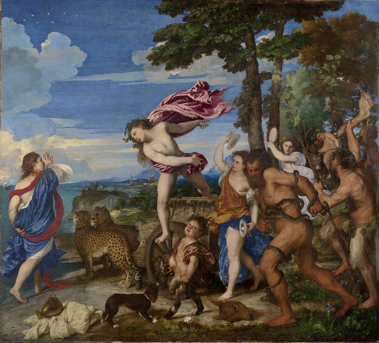 Titian (circa 1488-1576), Bacchus and Ariadne, 1520-23. Oil on canvas. National Gallery, London. Photo Bridgeman Images