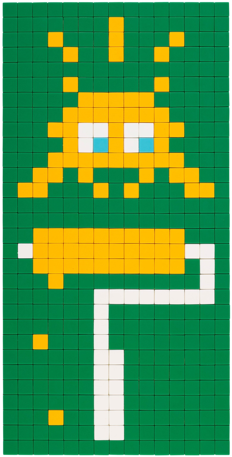 INVADER (b. 1969), Alias SP_43, 2011. Ceramic tiles on perspex. 28⅛ x 14 in (71.5 x 35.6 cm). Estimate $40,000-60,000. Offered in Trespassing, 5-19 August 2020, Online